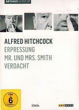 DVD-BOX NEU/OVP - Alfred Hitchcock - Erpressung / Mr. und Mrs. Smith / Verdacht