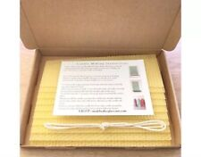 Natural Beeswax Candle Making Kit To Make 10 Three Inch Tall Candles