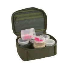 Fox NEW Royale Carp Fishing Luggage Glug Pot Case Dip Bag + 6 Pots