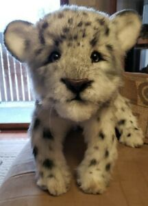 OOAK Realistic Snow Leopard
