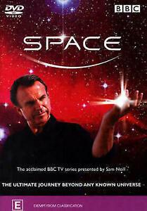Space DVD Documentary Sam Neill - BBC - ALMOST 3 HOURS - Australian Region 4 PAL