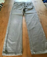 7 for all mankind grey slimmy jeans 30W 32L