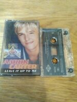 Aaron Carter - Leave It Up To Me (2001) Cassette Tape rare