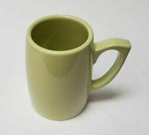 Thomas O'Brien Coffee Mug Cup Stoneware Green Vintage Modern
