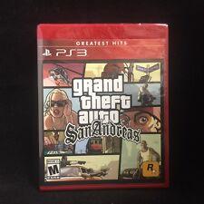 GTA Grand Theft Auto: San Andreas (PlayStation 3) Brand New
