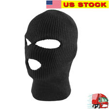 06147ad9ecd2c 3 HOLE Face Mask Ski Mask Winter Knit Thermal Cap Balaclava Hood Army  Tactical