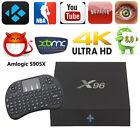 S905X X96 Android 6.0 Marshmallow TV BOX 4K IPTV Decoder+Keyboard