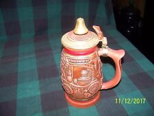 "Beer Stein ""Tribute To American Firefighters"" 1989-#273876"