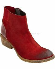 Coconuts by Matisse Butch Ankle Boots - Red - Size 6 Medium