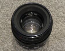 zebra helios 44-2 2/58 58mm mm VERY OLD USSR LENS VGC M42 SCREW FIT M 42 MOUNT