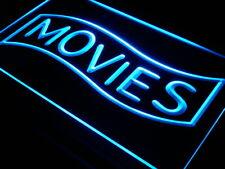 j293-b Movies Home Theater Night Lure Neon Light Sign