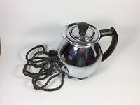 Vintage Sunbeam Coffeemaster model C30A Electric Coffee Pot Base w/Lid Tested