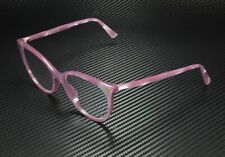 GUCCI GG0093O 004 Round Oval Pink Shiny Pink Demo Lens 53 mm Women's Eyeglasses