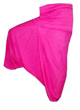 Indian Pink Harem Gypsy Hippie Ali Baba Baggy Pants Women Trousers Boho Yoga