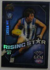 2011 AFL Rising Star Gem card Sam Wright #RSG21 North Melbourne
