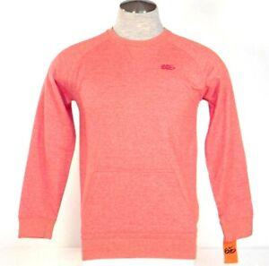 Nike 6.0 Skateboarding Heather Red Crew Neck Pullover Sweatshirt Youth Boy's NWT