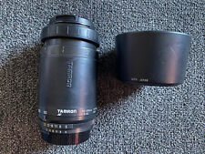 Tamron AF100-300 f/5-6.3 Canon Mount Lens w/ Caps & Hood  -  MADE IN JAPAN