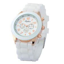 Colorful Unisex Men Women Silicone Jelly Quartz Analog Sports Wrist Watch New