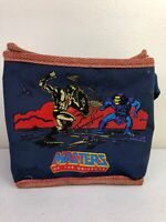 Rare Masters of the Universe He-Man Mattel Blue Lunch Bag Cooler Sack