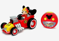 DISNEY MICKEY & THE ROADSTER RACERS,MICKEY MOUSE R/C ROADSTER VEHICLE,AGE 3+,NEW