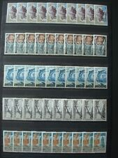 FRANCE / STOCK 5 x 10 STAMPS MNH **