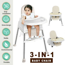 3in1 Babystuhl  Hochstuhl Kinderhochstuhl Babyliege Kinderstuhl Hocker Essstuhl