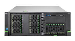 Fujitsu Primergy RX2560 M1 2x Xeon Quad Core E5-2623v3 3GHz 128GB Ram 3TB Server