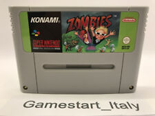 ZOMBIES - SUPER NINTENDO SNES - SOLO CARTUCCIA CARTRIDGE ONLY - PAL VERSION