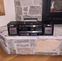 Vintage 1986 Panasonic RX-C53 Boombox Equalizer Cassette Player Recorder Radio