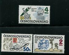 CZECHOSLOVAKIA  SCOTT# 2564-2566 MNH    DRAWINGS & CARICATURES