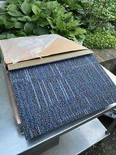 24 Pcs Carpet Tile 24'' x 24'' Lot Of 2 Cases Commercial Blue Ecoworx New