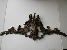 Antique IMPORTANT Frieze 800 Fusion Brass Chiselled Hand with puti and required