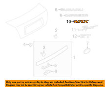 SUBARU OEM 08-14 Impreza Trunk Lid-Emblem Badge Nameplate 93079FG020