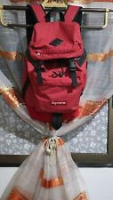 supreme backpack ss09 color red pre owned large size 9 0ver 10 condition