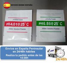 Sobres de calibracion para ph digital y analogico (Envio express)