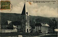 CPA   Dauphiné - Route de la Gde-Chartreuse,le Sappey et l'Hotel des... (434443)