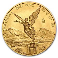 2016 Mexico 1/10 oz Gold Libertad BU - SKU #103082