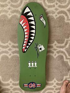 Vintage 1989 89 Doug Smith G&S Gordon Skateboard Deck Army Bomb Shark Blender