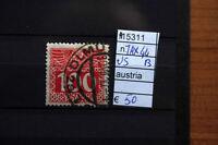 FRANCOBOLLI AUSTRIA USATI N. TAX44B (A15311)