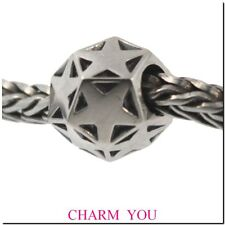Authentic Trollbeads Sterling Silver 11272 Sparkling Star