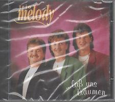 Trio Melody laß uns träumen CD NEU Santa Lucia Du bist die Sonne Träum mit mir