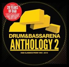 Drum & Bass Arena Anthology 2 (SEALED 3xCD) Pendulum Nero Ed Rush Netsky Serum