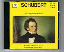 """SCHUBERT - ZYKLUS """"DIE SCHÖNE MÜLLERIN"""" - CD OCCASION - TRÈS BON ÉTAT"""