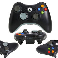 New Wireless Remote Game Controller Joypad for Microsoft Xbox 360 Console Black