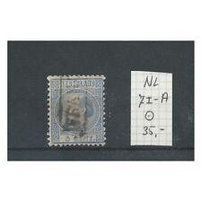 Nederland 7I-A  Willem III 1867  VFU/gebr CV 35  €