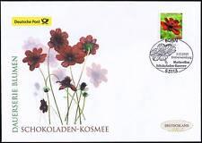 BRD 2015: Schokoladen-Kosmee! Post-FDC der selbstklebenden Nr. 3197! 1708