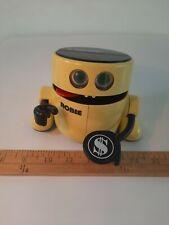 Radio Shack Robie robotic  banker 60-2261 coin bank vintage nostalgia 1980s.