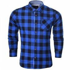 Brave Soul Check Casual Shirts & Tops for Men