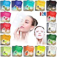 10pcs Korean Essence Facial Mask Sheet, Moisture Face Mask Pack Skin Care 16type