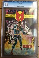 Miracleman #1 Alan Moore 1985 White Pages CGC 9.6